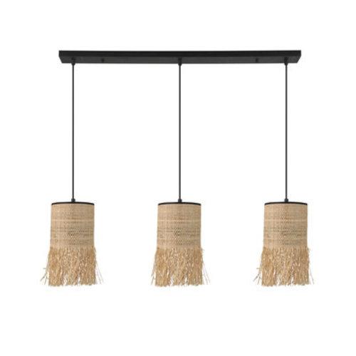 Market Set Formentera 3L lineaire hanglamp bana