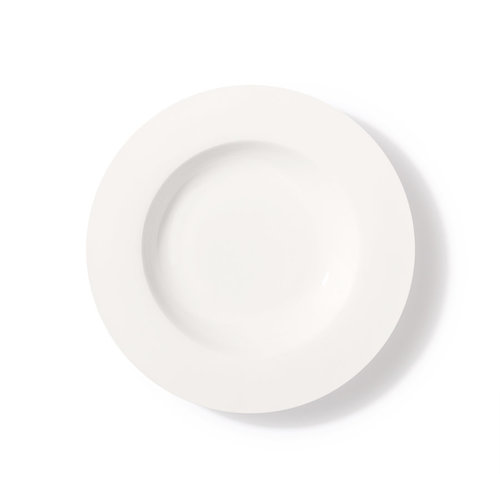 HK Living Bone China soepbord wit