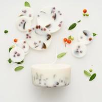 Ashberries & bilberry sojawas rondes en mini kaars lavendelgeur giftbox