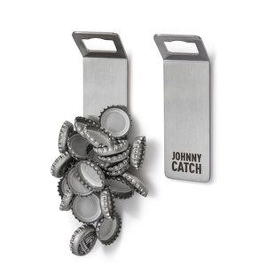 Höfats Johnny Catch flesopener met magneet zilver