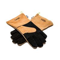 Handschoen hittebestendig zwart