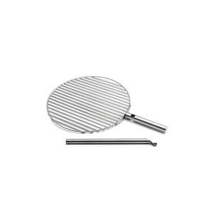 Höfats Triple grillrooster zilver 55 cm