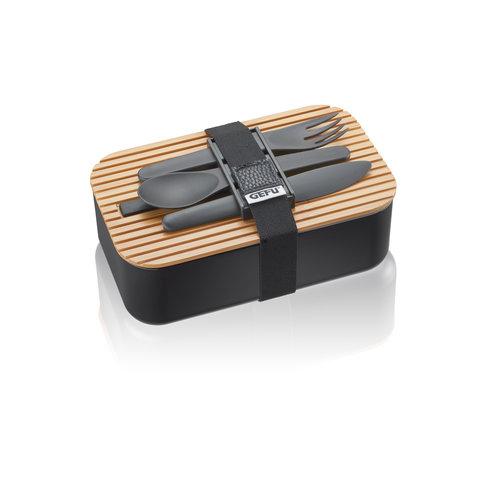 Gefu Enviro lunchbox + bestek