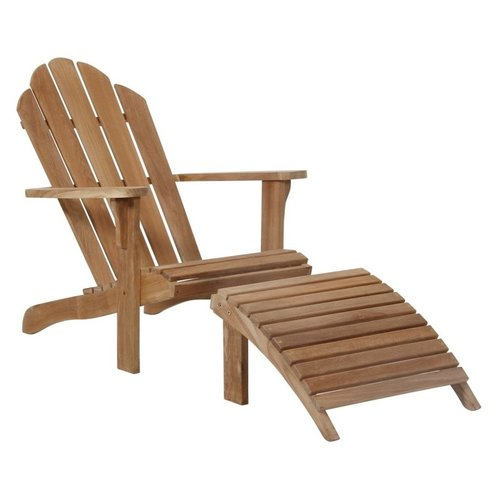 Brafab Margariti ligstoel met voetenbankje