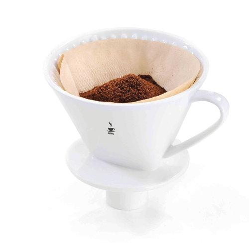 Gefu Sandro koffiefilter porselein maat 4