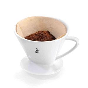 Gefu Sandro koffiefilter porselein maat 2
