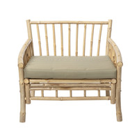 Sole lounge stoel bamboe