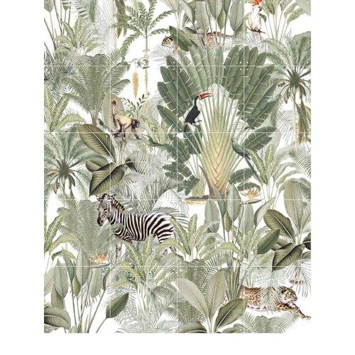 IXXI IXXI Wanddecoratie dubbelzijdig - Chilling in the Jungle & Into the Wild 80x100cm TOONZAALMODEL