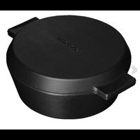 Cocotte kookpot met grillpan