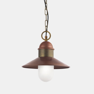 Il Fanale Borgo hanglamp koper/messing