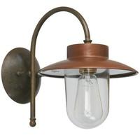 Calmaggiore wandlamp messing/koper