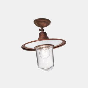 Il Fanale Barchessa plafondlamp koper/messing