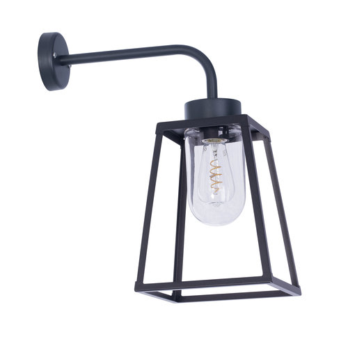 Roger Pradier Lampiok 1 wandlamp nummer 5 helder glas
