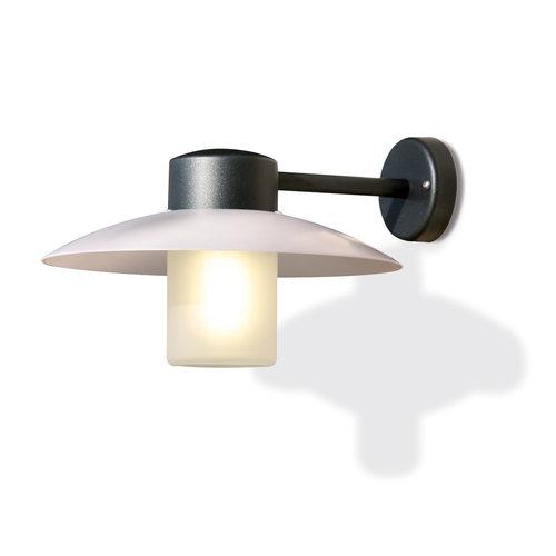 Roger Pradier Aubanne wandlamp mat glas
