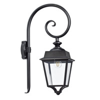 Place des Vosges 1 Evolution wandlamp model 5 helder glas