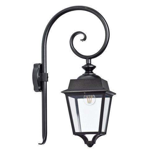 Roger Pradier Place des Vosges 1 Evolution wandlamp model 5 helder glas