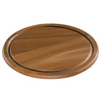 Kaas- en steakbord acacia hout Ø 25 cm