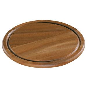 Zassenhaus Kaas- en steakbord acacia hout Ø 25 cm