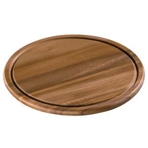 Zassenhaus Kaas- en steakbord acacia hout Ø 30 cm
