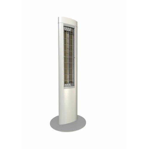 Solamagic SOLAMAGIC Z1 Premium staande infraroodstraler wit