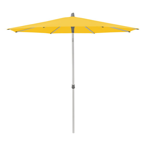 Glatz Alu Smart easy parasol stof 146 bright yellow