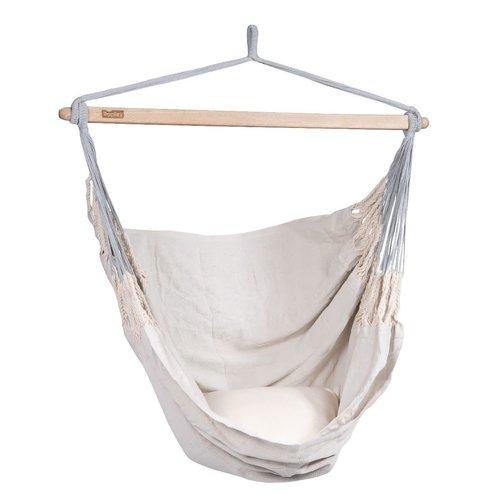 Tropilex Comfort hangstoel pearl polykatoen