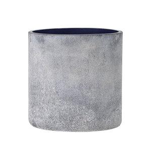 Bloomingville Macha theelichthouder blauw glas