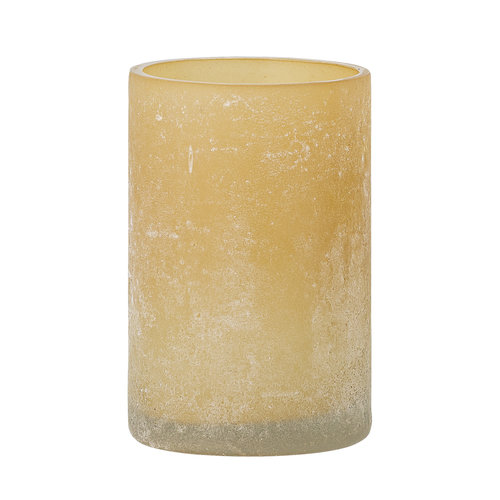 Bloomingville Macha theelichthouder naturel glas