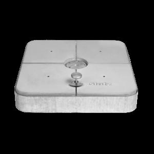 Glatz Gewichtenset decor gegoten beton 4 stuks 125 kg