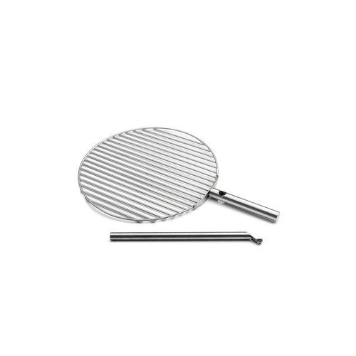 Höfats Triple grillrooster zilver Ø 45cm