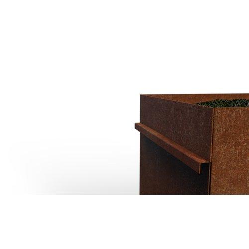 Kujp Multifunctionele afvalbak met kruidentuin incl 2 afvalemmers