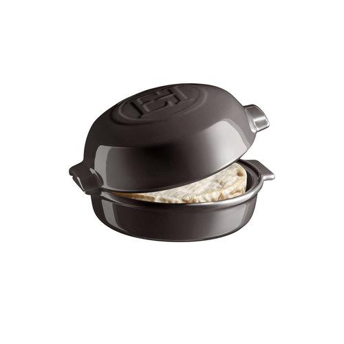 Emile Henry Cheese baker charcoal Ø19,5cm