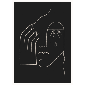 Paper Collective Single Tear poster 50x70