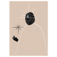 Ghost Queen poster 30x40