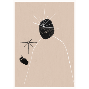 Paper Collective Ghost Queen poster 30x40