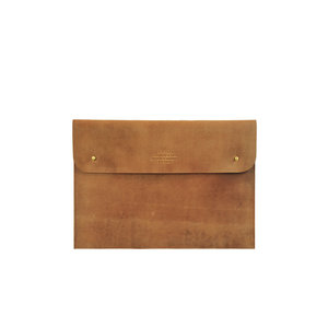 "O My Bag Laptophoes 13"" - hunter leather camel"