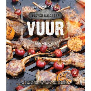 Karakter uitgevers Kookboek Vuur - Steven Raichlen