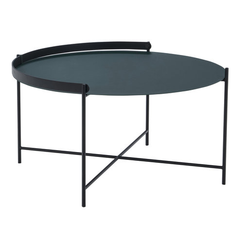 Houe Edge tray salontafel zwart metaal