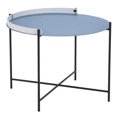 Houe Edge tray salontafel  pigeon blue metaal
