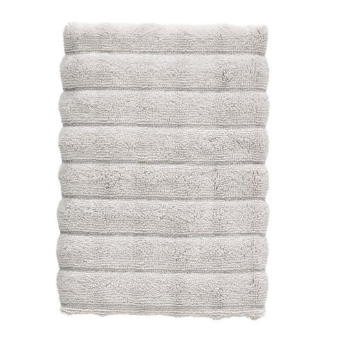 Zone Denmark Inu handdoek grijs katoen 50 x 70