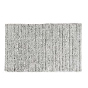 Zone Denmark Tiles badmat grijs katoen 50 x 80
