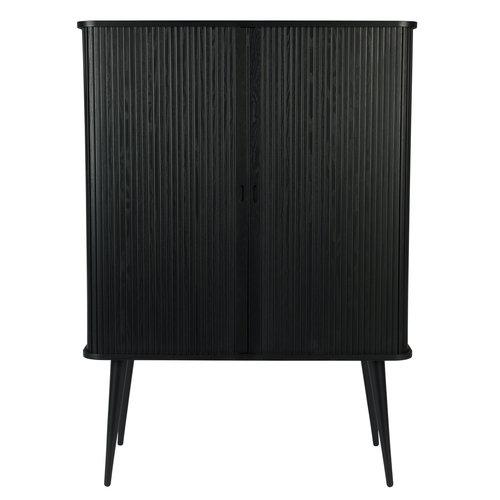 Zuiver Barbier cabinet zwart