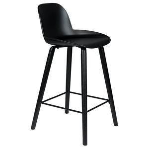 Zuiver Albert Kuip counter stoel volledig zwart