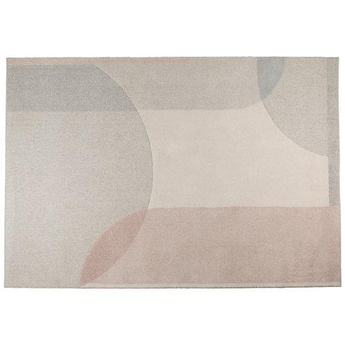 Zuiver Dream tapijt naturel/roze