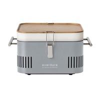Cube houtskool barbecue grijs