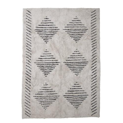 Bloomingville Jegor tapijt naturel katoen
