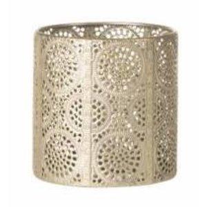 Sika Design Cilinder theelichthouder goud
