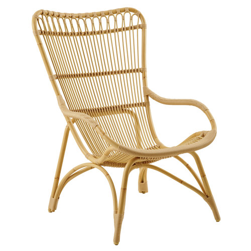 Sika Design Monet fauteuil alu-rotan