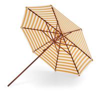 Messina parasol gele strepen Ø270