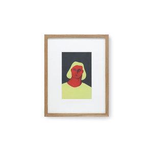 HK Living Kader met kunst door Pauline Blanchard 36,5 x 46